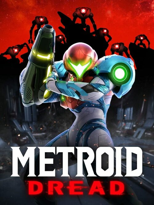 Cover for Metroid Dread.