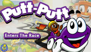 Cover for Putt-Putt Enters the Race.