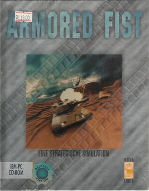 Cover for Armored Fist.