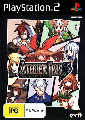 Cover for Atelier Iris 3: Grand Phantasm.
