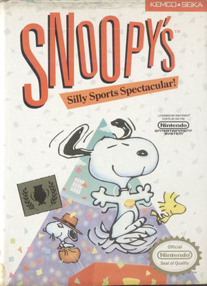Cover for Snoopy's Silly Sports Spectacular.