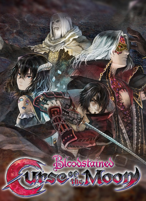 Cover for Bloodstained: Curse of the Moon.