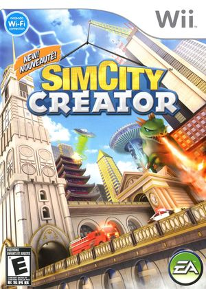 Cover for SimCity Creator.