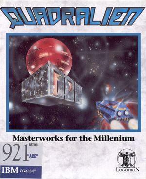 Cover for Quadralien.