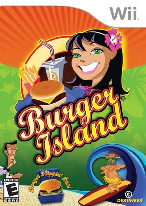 Cover for Burger Island.