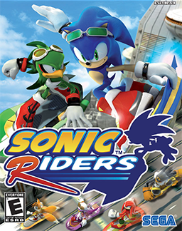 Cover for Sonic Riders.