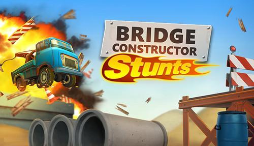 Cover for Bridge Constructor Stunts.