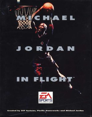Cover for Michael Jordan in Flight.