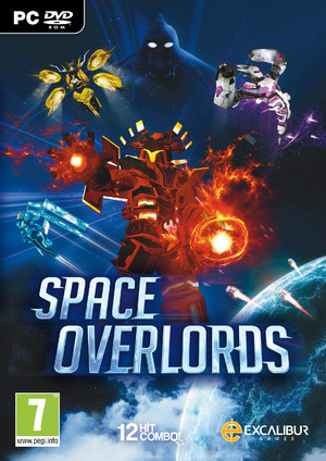 Cover for Space Overlords.