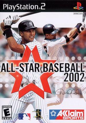 Cover for All-Star Baseball 2002.