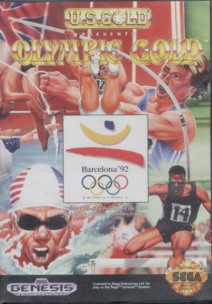 Cover for Olympic Gold.