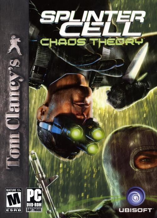 Cover for Tom Clancy's Splinter Cell: Chaos Theory.