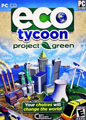 Cover for Eco Tycoon: Project Green.