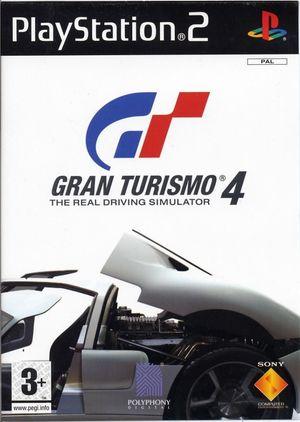 Cover for Gran Turismo 4.
