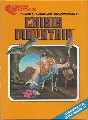 Cover for Crisis Mountain.