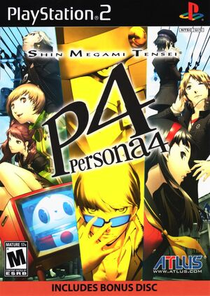 Cover for Shin Megami Tensei: Persona 4.