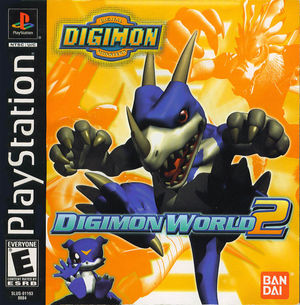 Cover for Digimon World 2.