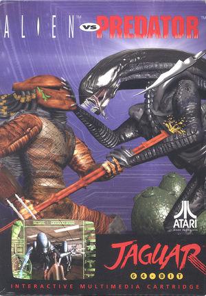 Cover for Alien vs Predator.