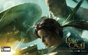 Cover for Lara Croft and the Guardian of Light.
