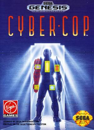 Cover for Cyber Cop.