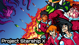 Cover for Project Starship X.