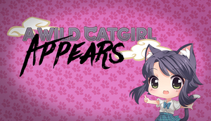 Cover for A Wild Catgirl Appears.