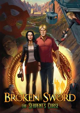 Cover for Broken Sword 5: The Serpent's Curse.
