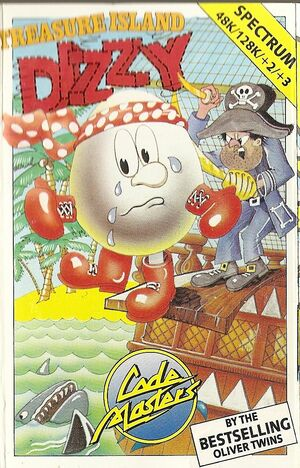 Cover for Treasure Island Dizzy.
