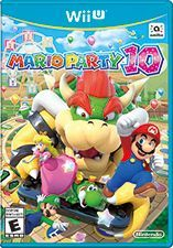 Cover for Mario Party 10.