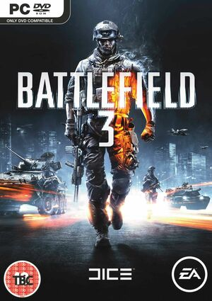 Cover for Battlefield 3.