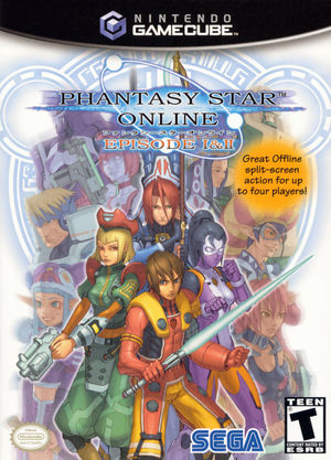 Cover for Phantasy Star Online: Episode I & II.