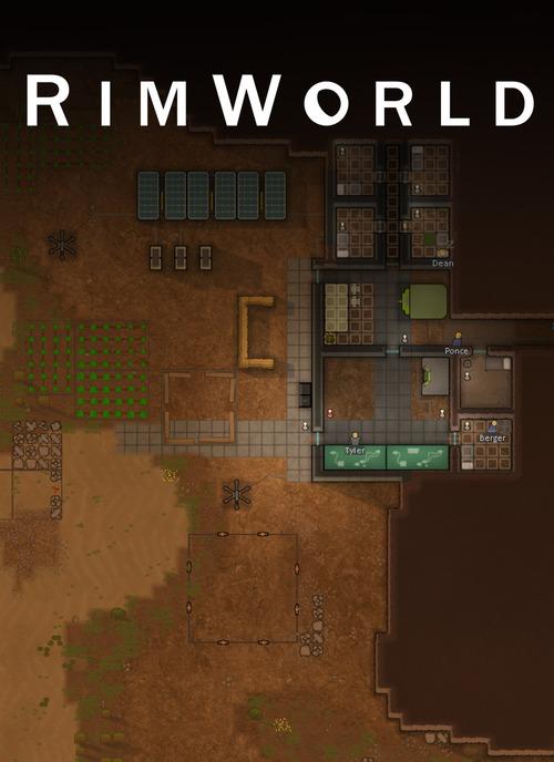 Cover for RimWorld.