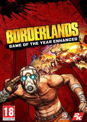 Cover for Borderlands GOTY Enhanced.