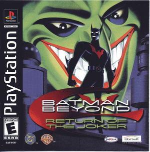 Cover for Batman Beyond: Return of the Joker.