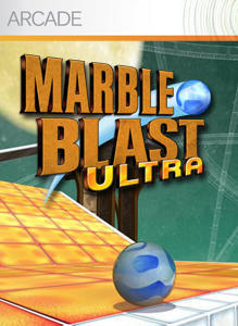 Cover for Marble Blast Ultra.