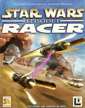 Cover for Star Wars Episode I: Racer.