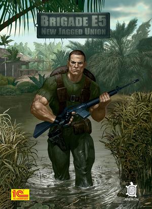 Cover for Brigade E5: New Jagged Union.