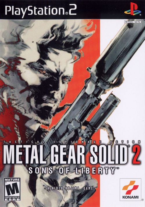 Cover for Metal Gear Solid 2: Sons of Liberty.