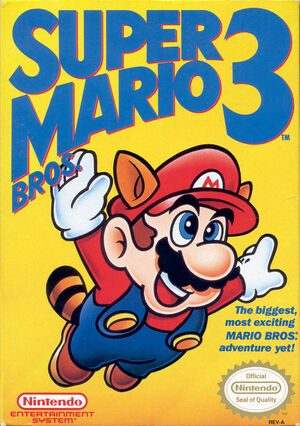 Cover for Super Mario Bros. 3.