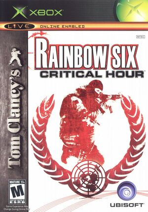 Cover for Tom Clancy's Rainbow Six: Critical Hour.