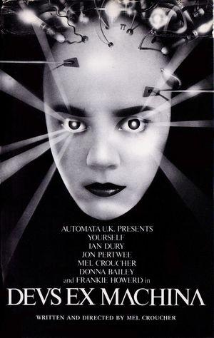 Cover for Deus Ex Machina.