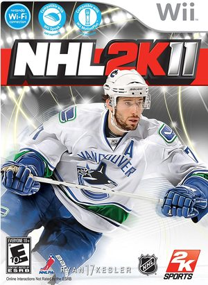 Cover for NHL 2K11.