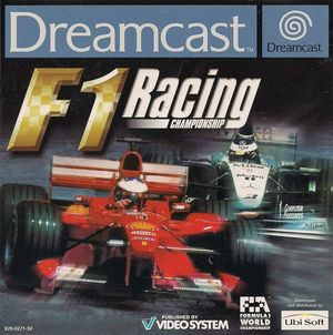 Cover for F1 Racing Championship.