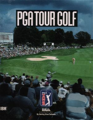 Cover for PGA Tour Golf.