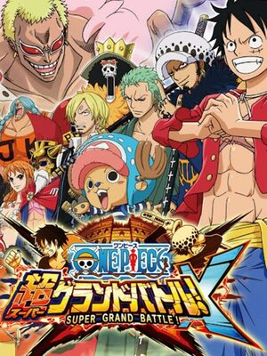 Cover for One Piece: Super Grand Battle! X.