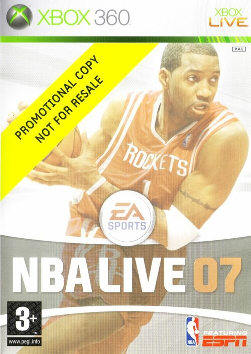 Cover for NBA Live 07.