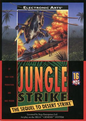 Cover for Jungle Strike.