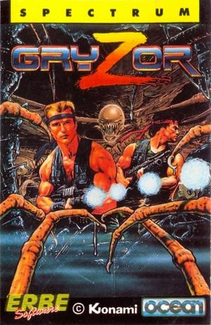 Cover for Contra.