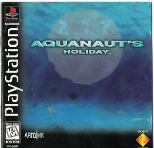 Cover for Aquanaut's Holiday.