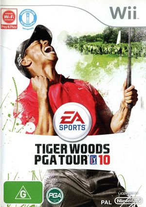 Cover for Tiger Woods PGA Tour 10.
